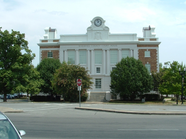 Marshall County Courthouse, Lewisburg, TN