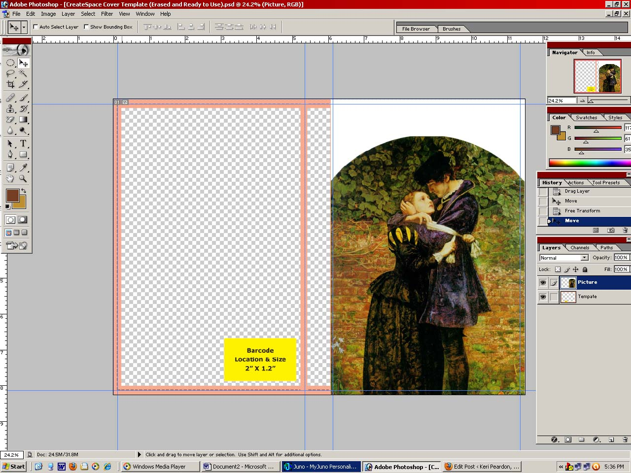 How to Make Your Own Book Cover – Lesson 4 « Keri M  Peardon
