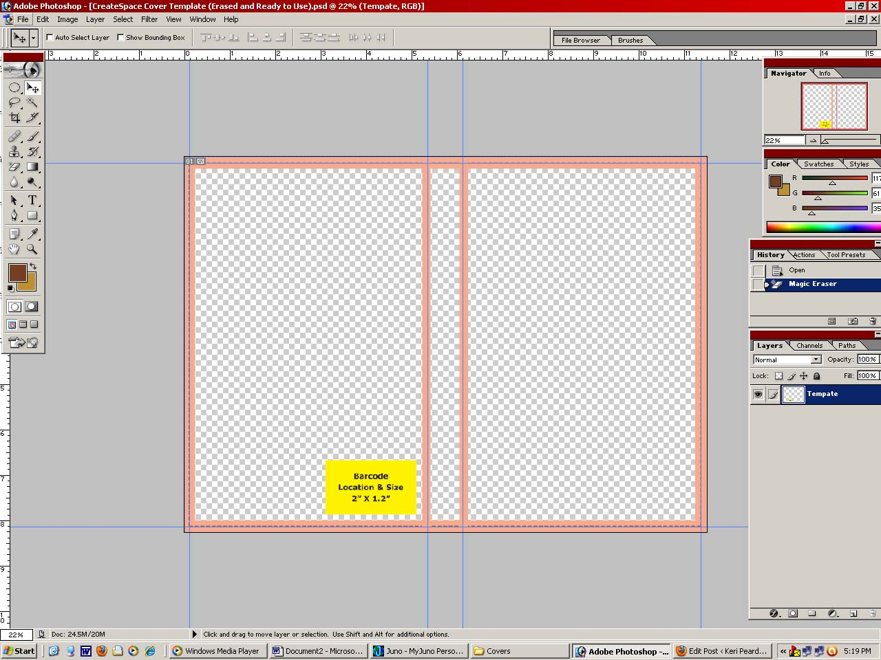 Book Cover Template Maker ~ How to make your own book cover lesson « keri m peardon